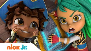 Santiago Saves Magical Chest From Bonnie Bones! | Nick Jr.
