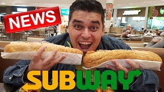 SUBWAY - Frango PESTO Cream CHEESE e Carne SUPREME