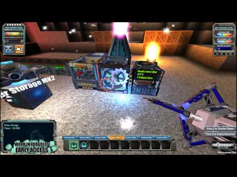 FortressCraft:Evolved - Episode 9 - Upgrading Your Power Supply