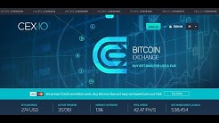 How To Use CEX.io To buy & sell and Send Bitcoin and cryptocurrency 2020
