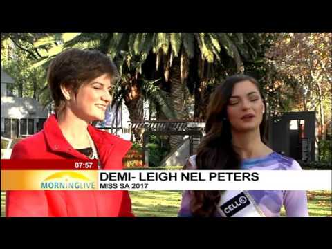 Celebrating Mother's Day with Miss SA Demi-Leigh Nel-Peters