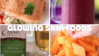 ♥ 5 Foods For Glowing Skin (MY Healthy Skin Diet) ♥ Thumbnail