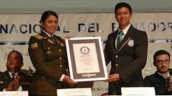 Record Guines de Policia del Ecuador en cuanto a personal capacitado en Derechos Humanos