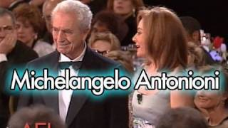 Michelangelo Antonioni Salutes Martin Scorsese at the AFI Life Achievement Award