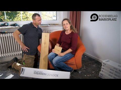 kenny und biggi verlegen gerflor creation 30 lock. Black Bedroom Furniture Sets. Home Design Ideas