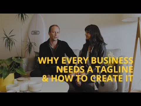 Why Every Business Needs a Tagline & How to Create It