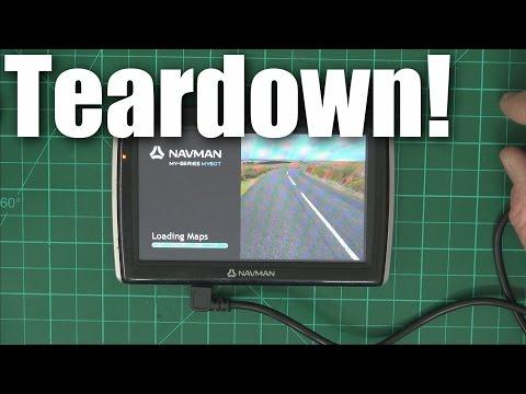 Quick Teardown: Navman MY50 Car GPS System