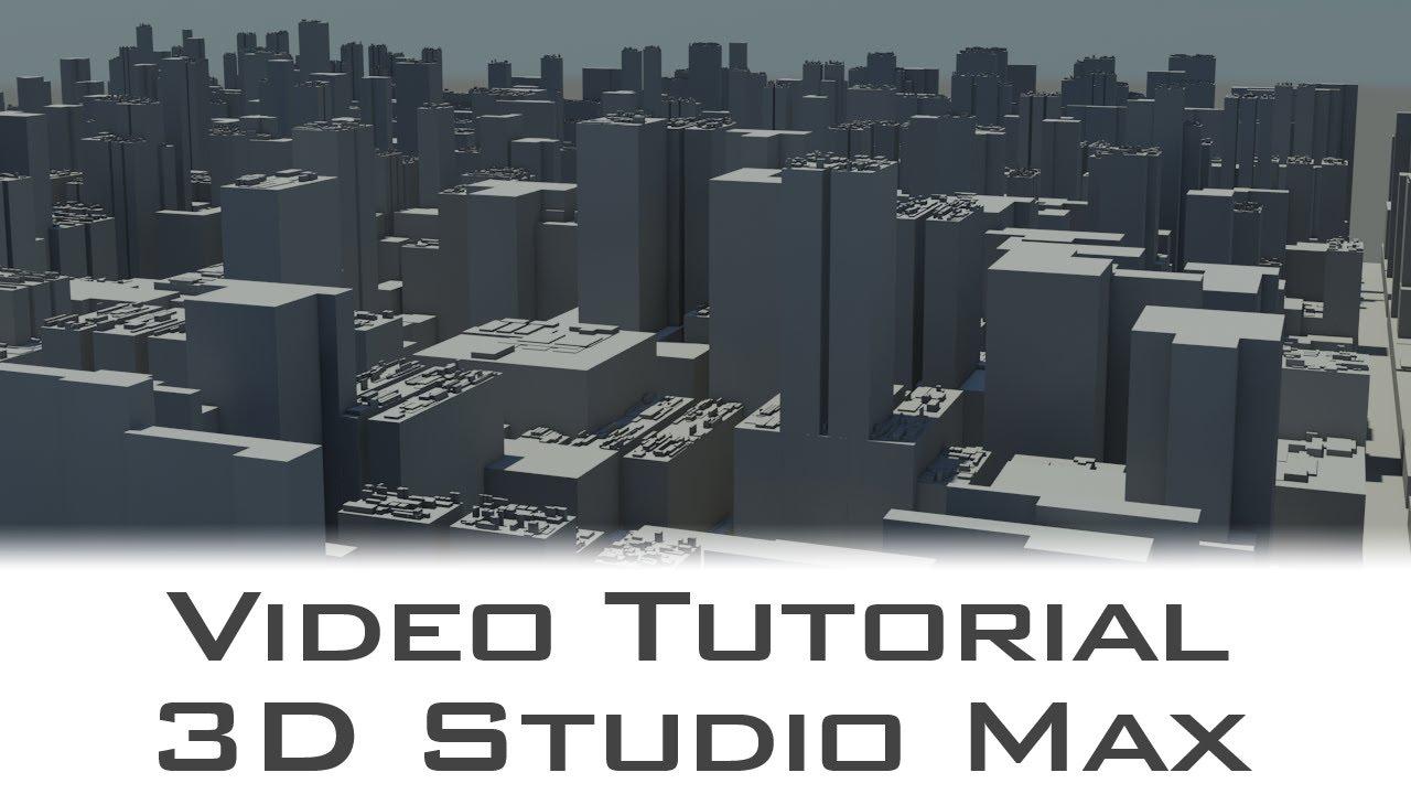 Tutorial greeble modifier for 3d studio max youtube for Tutorial 3d max