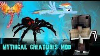 Minecraft Mod Mythical Creatures Part 1 เถื่อนกว่า Crazy Craft เปิดตำนานสัตว์เทพ