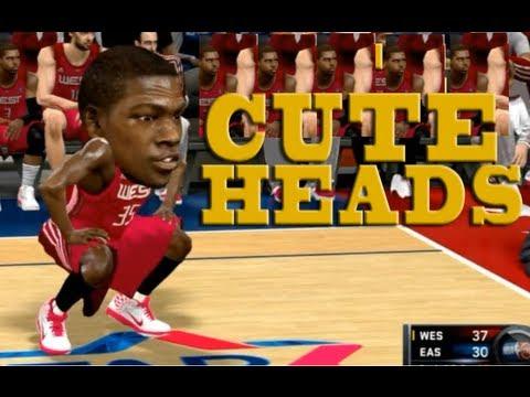 Funny Cute Heads Mod - NBA 2K Series HD