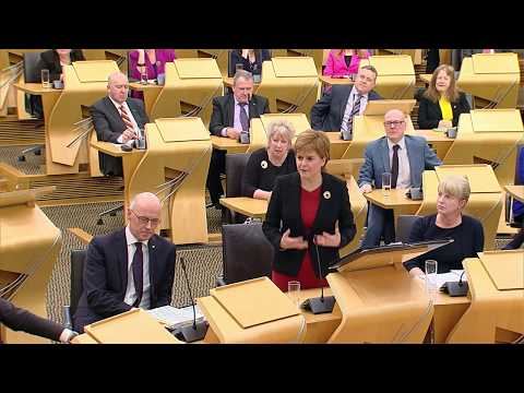 First Minister's Questions - 11 January 2018