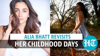 Watch: Alia Bhatt runs around with kids in forest, embraces her inner child
