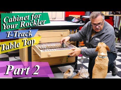 Build This Rockler Table Cabinet - Part 2 *Mad Nerd Workshop*