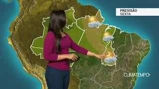 Previsão Norte – Nuvens carregadas se espalham