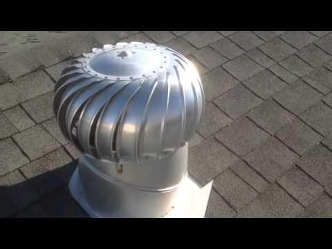 How To Install A Lomanco Whirlybird 174 Turbine Vent Add