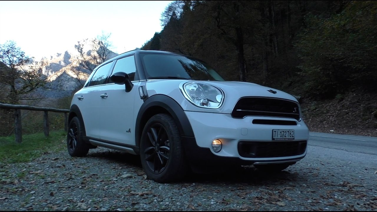 Mini Countryman Sd All4 Details And Driving