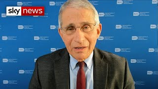 COVID-19: Fauci fears UK anti-vaxxer backlash