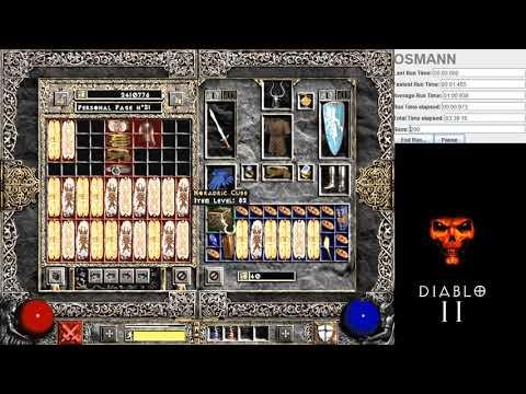 Diablo 2 - 200 Travincal Runs Results