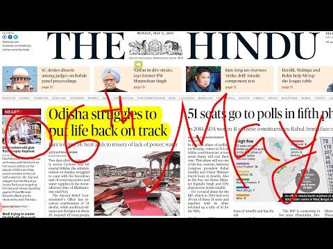 The Hindu Newspaper 06th May 2019