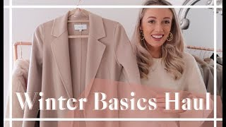 WINTER BASICS HAUL //  & Other Stories + Reiss //  Fashion  Mumblr