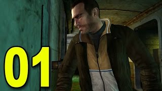 Grand Theft Auto 4 - Part 1 - Welcome to America! (Let