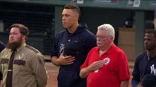 Yankees, Twins honor victims of 9/11 in pregame ceremony