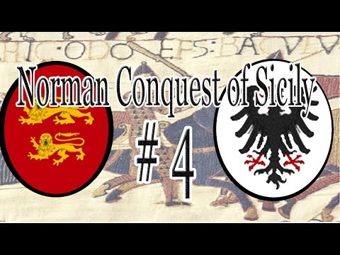 CK2 | The Norman Conquest of Sicily - Part 4