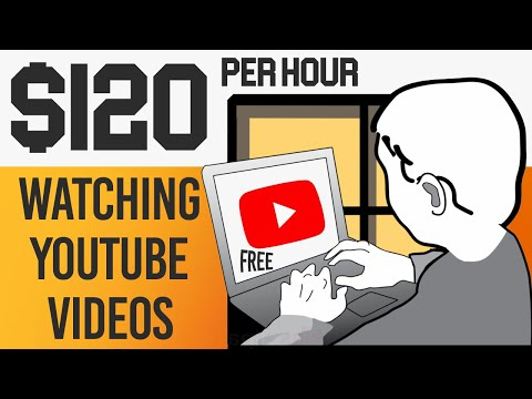 FREE$120 PER HOUR By Watching YouTube Videos (Make Money Online)