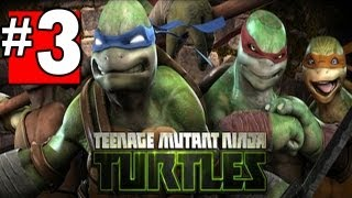 Teenage Mutant Ninja Turtles Out of the Shadows Walkthrough Part 3 Chapter - 1 [HD] XBOX360 XBLA