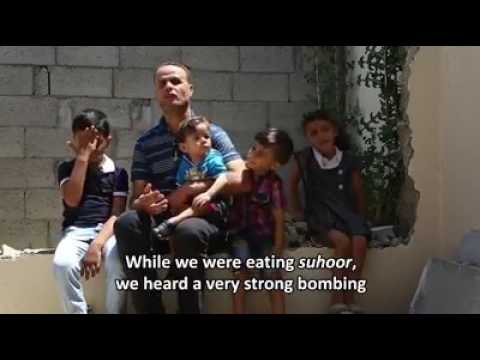 Rebuild Gaza: The Story of the Abdullah Family