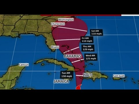 Timing Dangerous Hurricane Matthew, State of Emergency Declared In Florida and North Carolina
