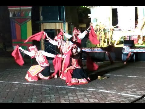 Cultural dance from tribal group of Davao City for araw ng dabaw