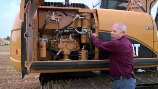 Cat® Excavator Daily Walkaround Inspection
