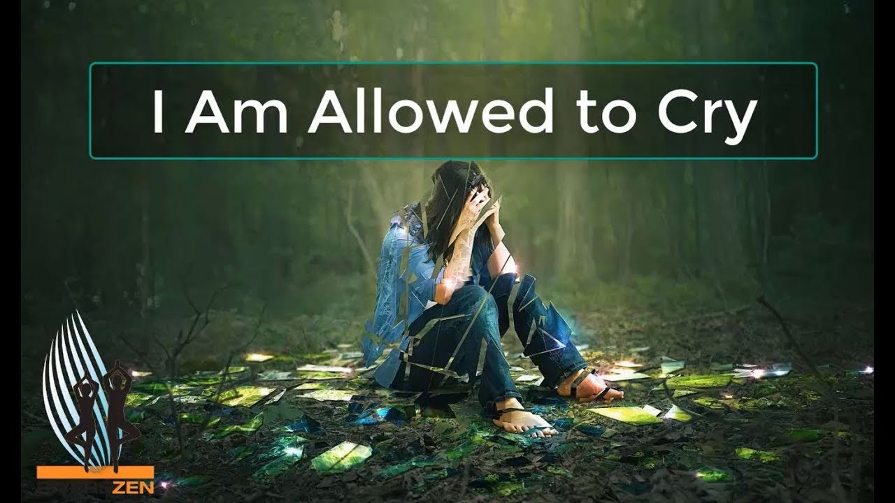Meditation: I Am Allowed to Cry - YouTube