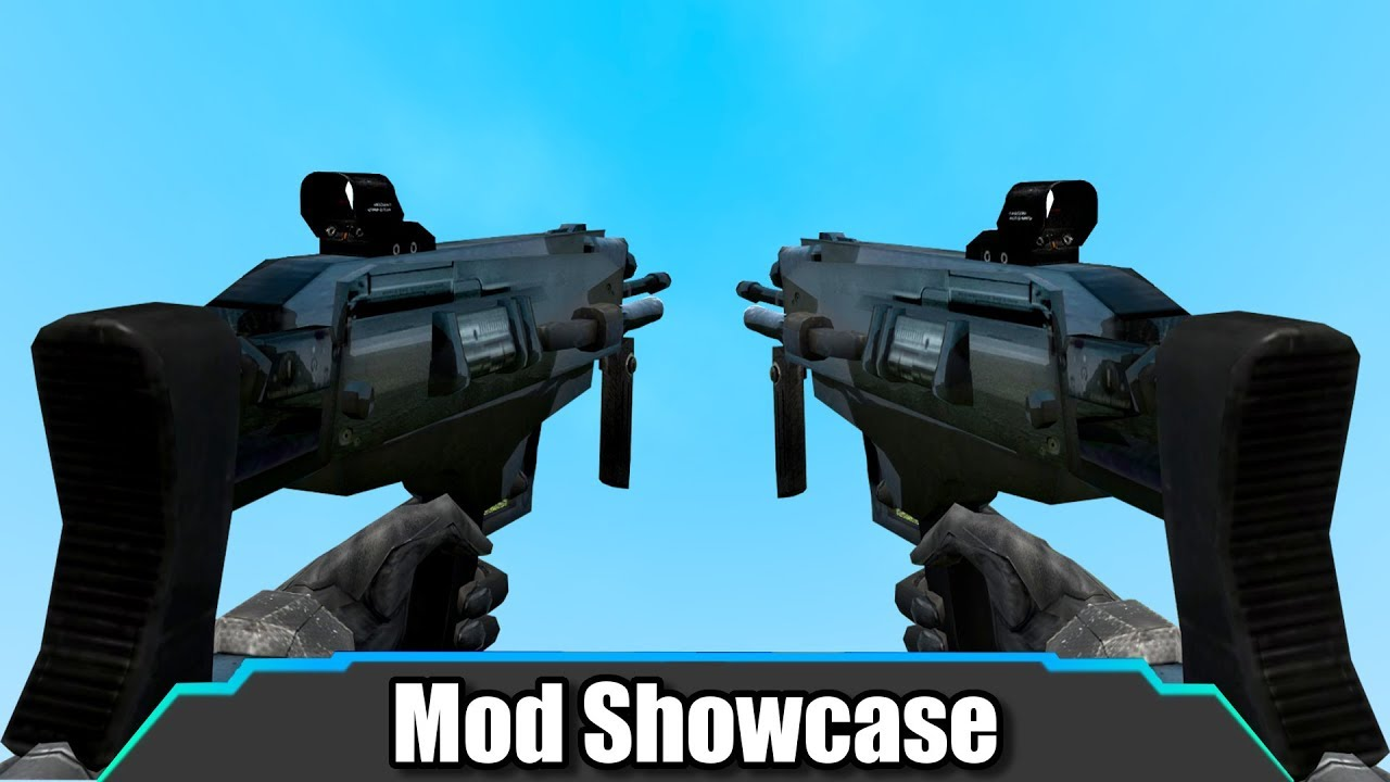 Garry's Mod | These New Combine Weapons Are AMAZING | Mod Showcase