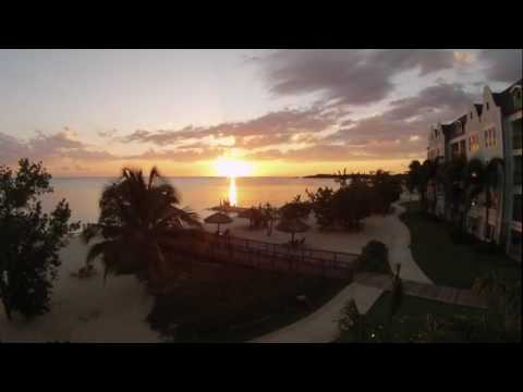 Sandals South Coast Resort - Whitehouse Jamaica Sunset Time lapse. March 24, 2017