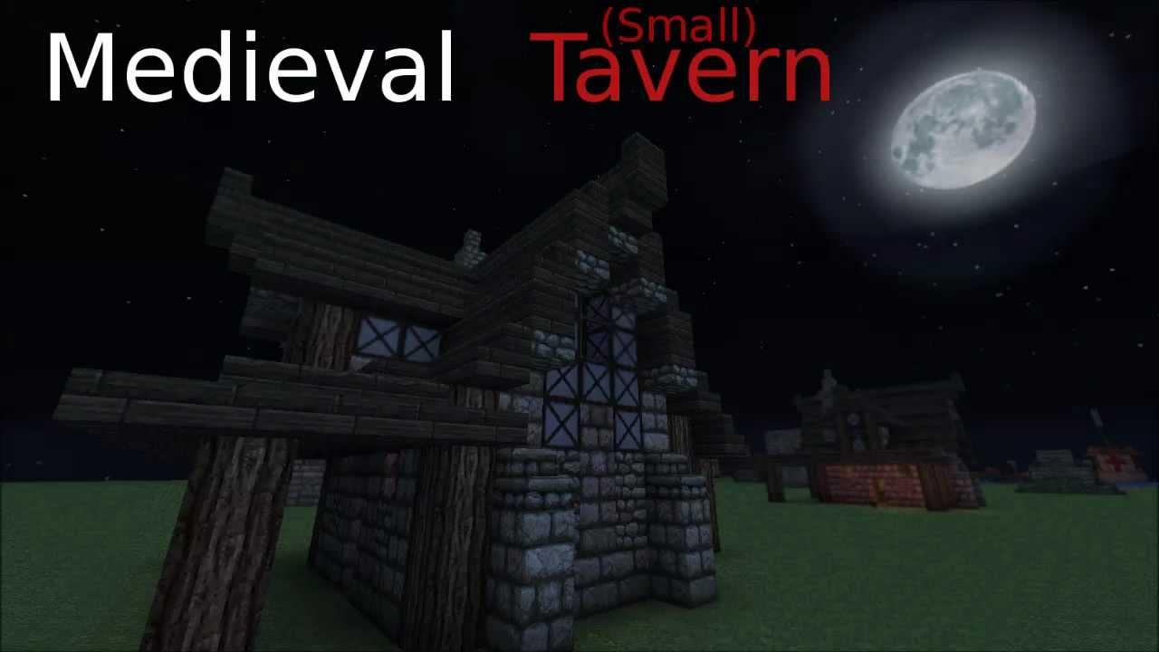 Minecraft Small Tavern Interior Tutorial