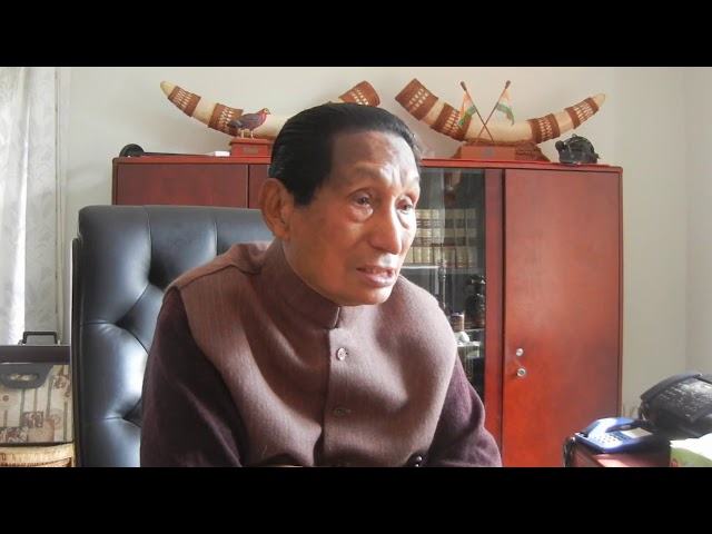 Nagaland Page's Interview With Dr S C Jamir