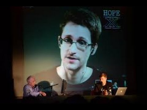 A Conversation with Edward Snowden at HOPE X