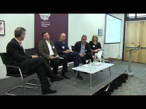 'TV content' 1. Ed Vaizey MP introduction & tax incentive panel session (Comms Review series)