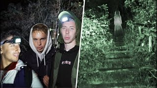 HIDE & SEEK IN A HAUNTED FOREST! Ft Joe Weller & Gib