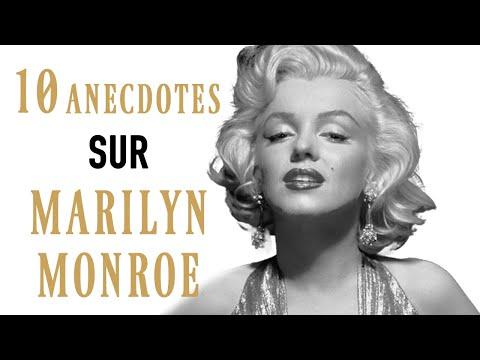 10 ANECDOTES SUR... MARILYN MONROE