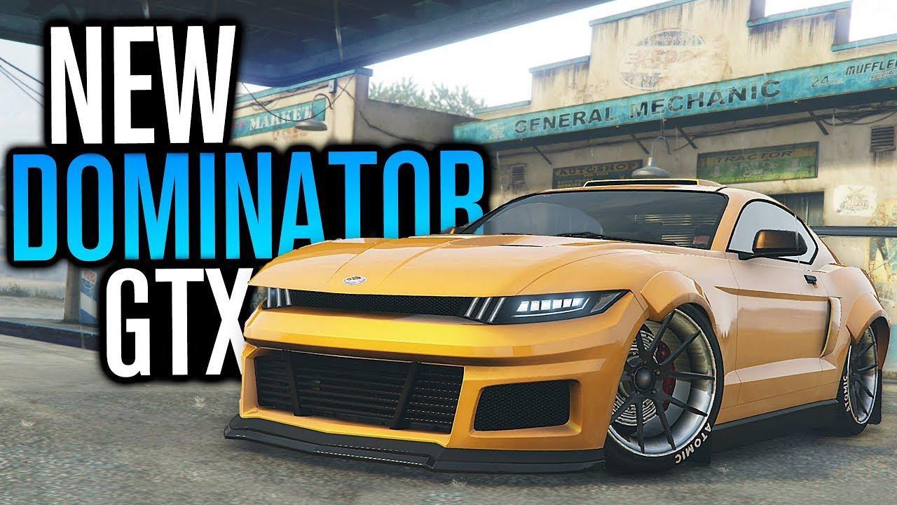 new american icon vapid dominator gtx gta v online youtube