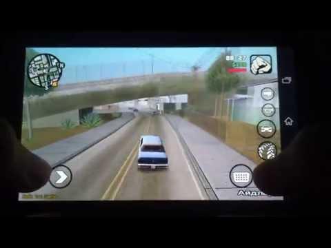 Sony Xperia Z - GTA San Andreas (Adreno 320) (Android) (Gameplay)