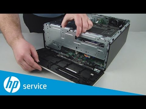 Replace the Front Bezel | HP Pavilion Gaming 790-xxx PC Series and ENVY Desktop 795-000 CTO | HP