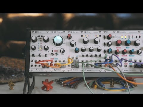 Loom 1 (ft. Plaits) | All Mutable Instruments Eurorack Modular Synthesizer