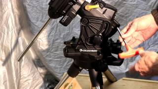 celestrons cgx mount diy projects