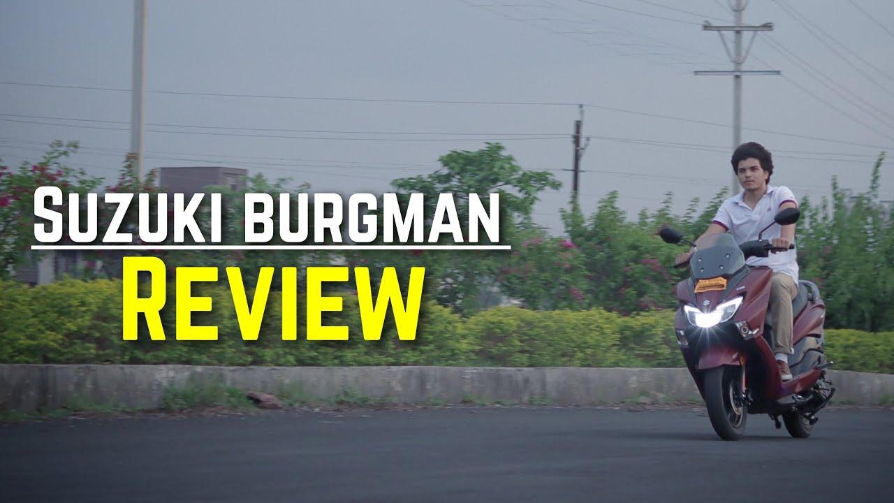 Suzuki Burgman street BS6 review | SR Motoworld