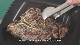 How to cook T-Bone Steak Recipe - Porterhouse T Bone Grilled