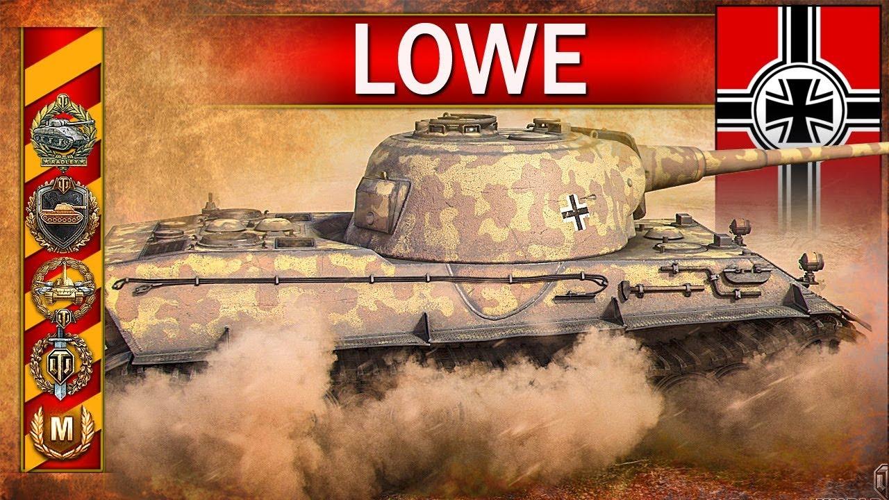 Lowe – mistrzostwo świata i 200 000 zarobku – World of Tanks